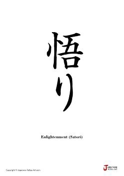 Japanese word for Enlightenment