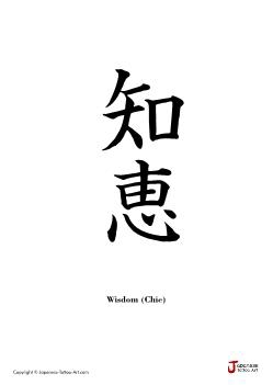 Japanese word for Wisdom